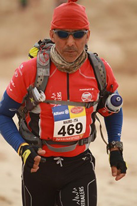 Mauro Prosperi has run many desert races