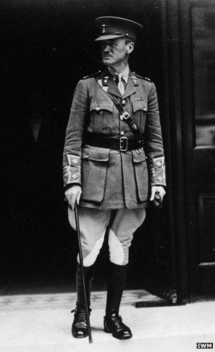 Lieutenant Colonel J H Patterson, Q 80054 IWM