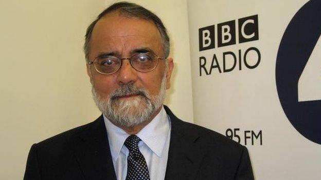 Ahmed Rashid on 13 November 2008