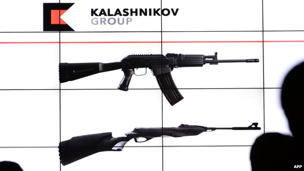 Images of new-look Kalashnikov