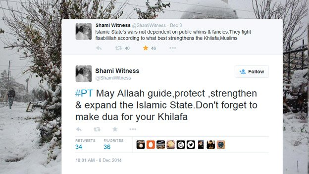 Screen grab from Shami Witness Twitter account