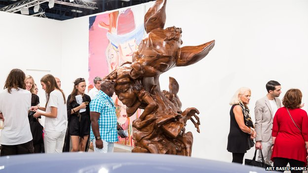 Art on display at Art Basel