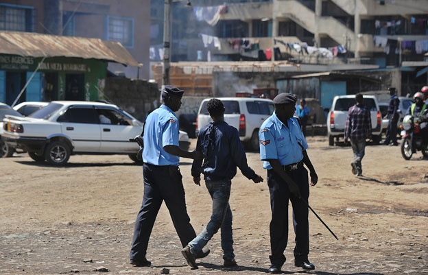 A young man arrested in Eastleigh