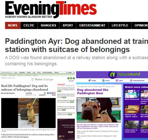 Paddington comparisons in the press