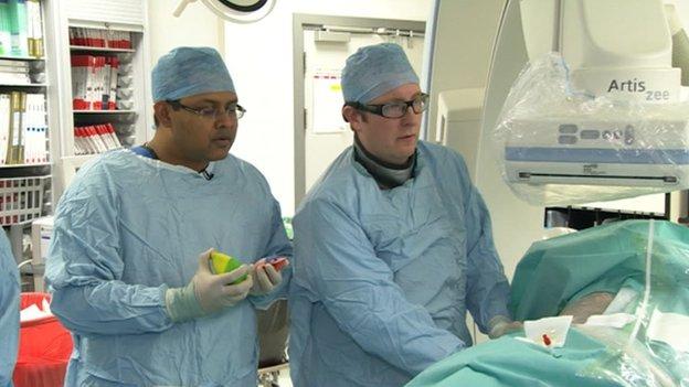 Kidney stone operation