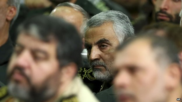 Gen Qasem Soleimani (17 September 2013)