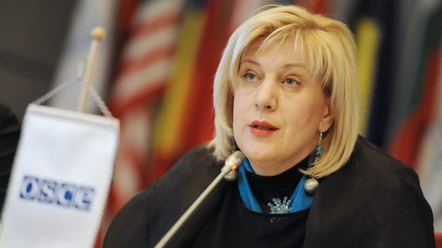 Image of Dunja Mijatovic, the OSCE's Representative on the Freedom of the Media, taken from the OSCE website