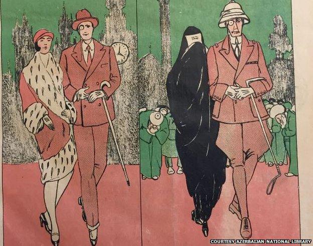 1929 cartoon showing British Consul