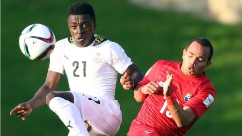 Ghana Under-20s in action against Panama