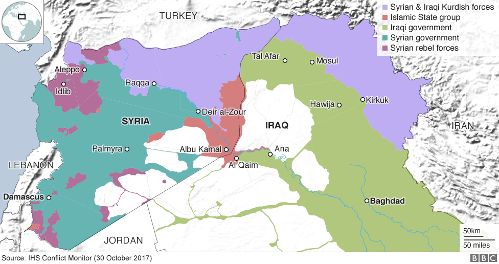 Image result for SYRIA BBC MAP LATEST