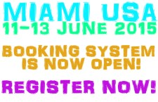 Miami booking system is now open!