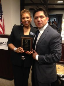 Joyce Search - Hispanic Chamber amiga award