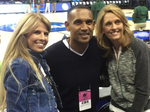 Grant Hill with Moms