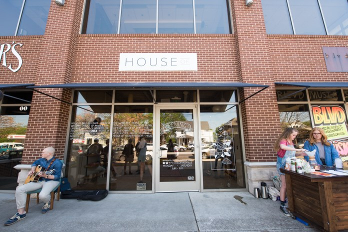 The front of House Of, a student-run business on Belmont Blvd.