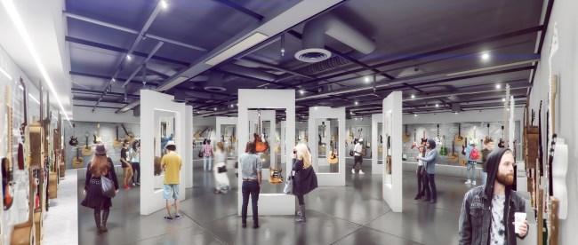 museum rendering