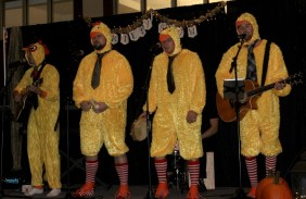 chicken suit quartet from the College of Law Variety Show
