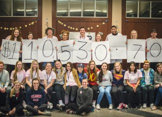 Students stay up til dawn for St Jude and raise more than $110,000