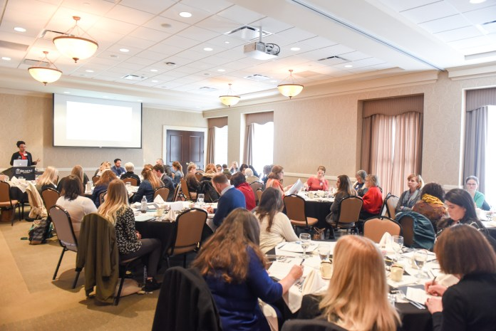 College of Health Sciences and Nursing hosted a Stakeholder Summit for their recent ACE grant receipt. A packed room began discussions surrounding the grant's use.