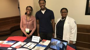 College of Pharmacy presents at Grad School Fair