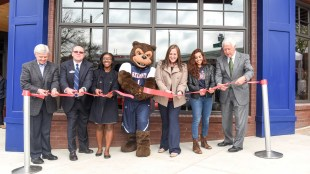 Ribbon cutting of new Belmont Store