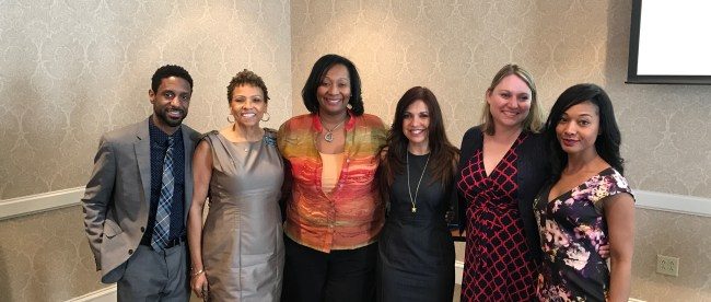 Attendees at the Power of Women Luncheon, held on Belmont's campus