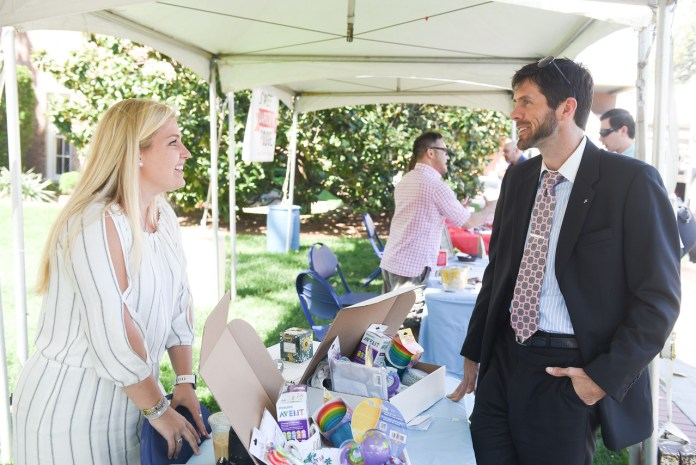 Students hare business ideas at annual Entrepreneurship Village