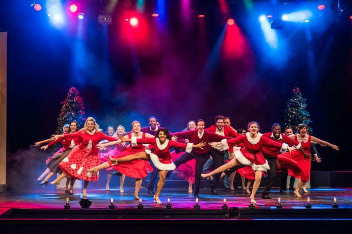 Musical Theatre's performance of White Christmas in December 2015