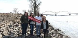 Belmont Serve901 Missions trip in Memphis, Tenn. March 7, 2017.