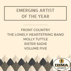 Emerging Artist of the Year Graphic