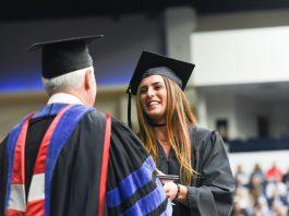 Graduation at Belmont University in Nashville, Tenn. May 6, 2017.
