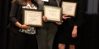 Belmont scholarship award winners