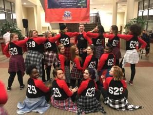 the 629 dance team