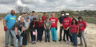 Acuna Mexico Mission Trip Spring Break 2018 (Photo courtesy of Pat Cunningham)