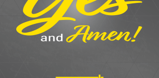 """cover of choral book, reads """"Yes and Amen"""""""