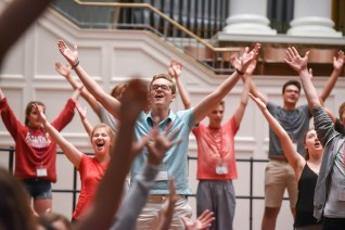 Vocal Camp at Belmont University in Nashville, Tennessee, June 29, 2018.