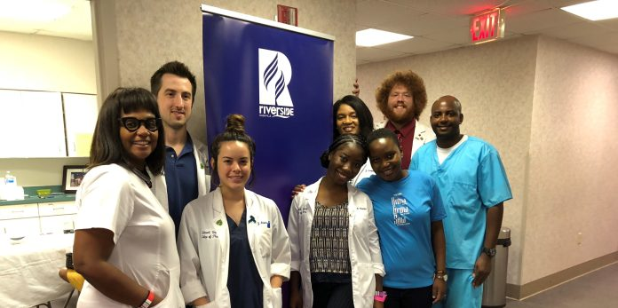 Belmont pharmacy students help at clinic