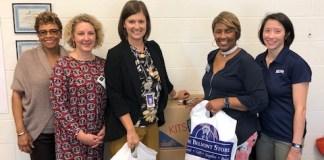 USAC donating supplies at Metro Nashville schools