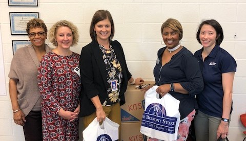 USAC donating supplies at Metro Nashville schools