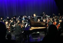 James Matthews plays piano with Nashville Philharmonic Orchestra