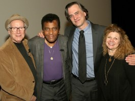 Journalist Robert K. Oermann, Charley Pride, Country Music Hall of Fame's Peter Cooper and film director Barbara Hall participated in a Q&A session following the film.