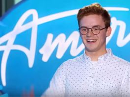 Walker Burroughs on 'American Idol'