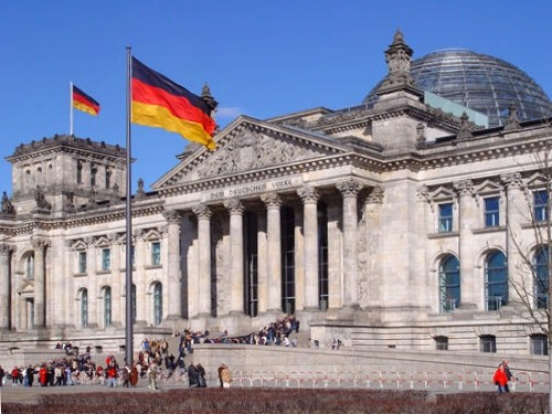 Reichstag Berlino Germania