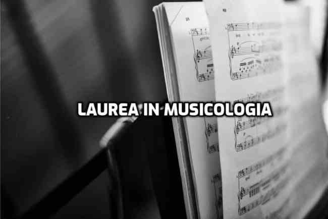 laurea in musicologia