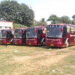 Mercedes Benz Buses by BSRTC