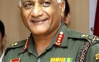 Indian Army Chief of Staff VK Singh