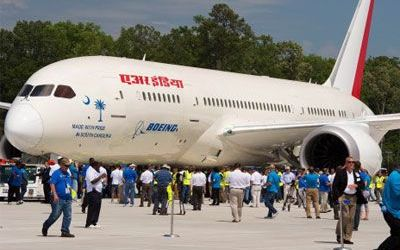 Boeing Dreamliner Aircraft of Air India