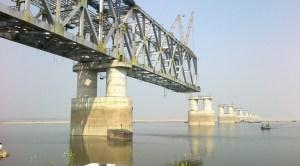 Digha Sonepur Rail Road Bridge
