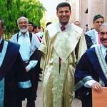 Raghuram Rajan with Narayana Murthy at IIM Ahmedabad