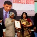 Raghuram Rajan with Wife Radhika Puri at Infosys Awards 2011