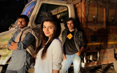 First poster of Highway starring Alia Bhatt and Randeep Hooda